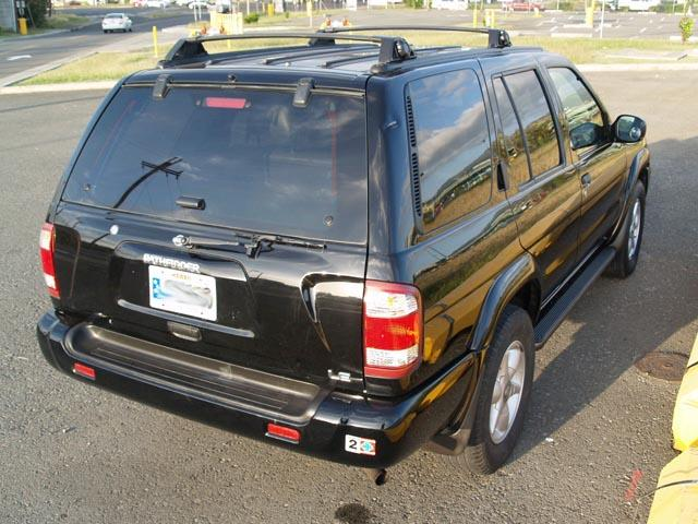 autoland 2000 nissan pathfinder se black on black 4x2 autoland us